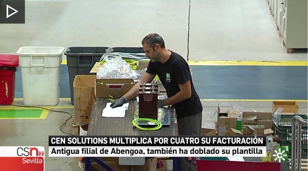 """""""Cuadros eléctricos sevillanos que llegan a 25 países del mundo"""""""