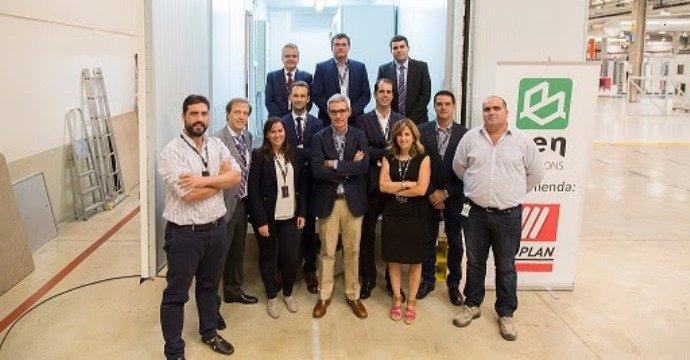 Visita del Consorcio del proyecto G.R.A.C.I.O.S.A. a las instalaciones de 'CEN Solutions'